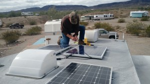 Bob Cleaning for Solar Panels