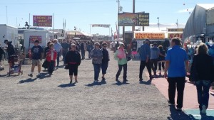 Entrance to Quartzsite RV Show