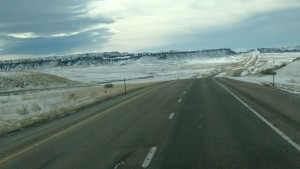 Highway North of Casper