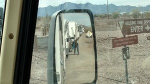 Lineup in Mirror