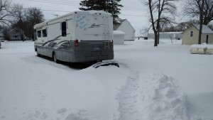 Path to Motor Home