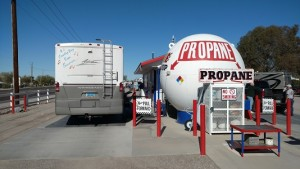 Propane at RV Pit Stop