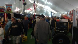 Traffic in Tent