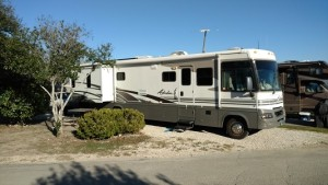 Parked at Hill Country RV Resort