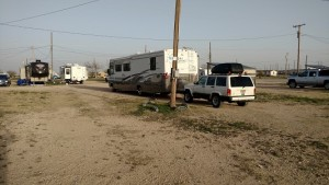 Parked at Parkvew RV Park