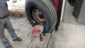 Putting Tire on Rim